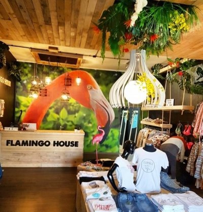 Atenea Street . Flamingo Shop 03