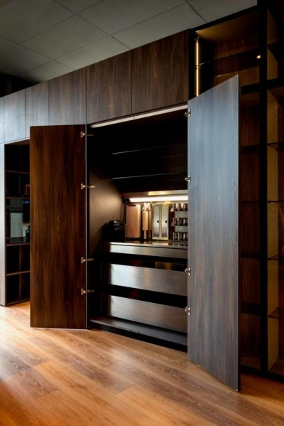 Atenea Street Showroom. Muebles cocina.