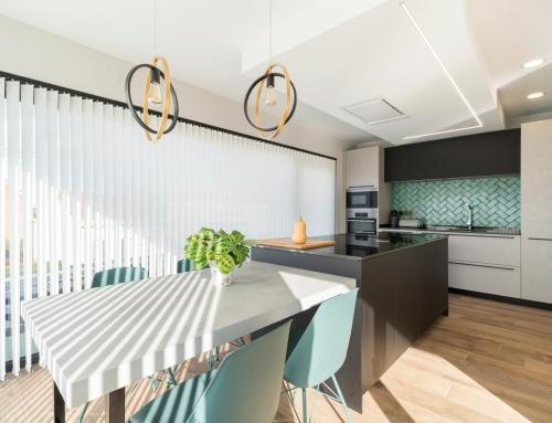 Proyecto de cocina Copatlife instalada en una vivienda unifamiliar de Oleiros