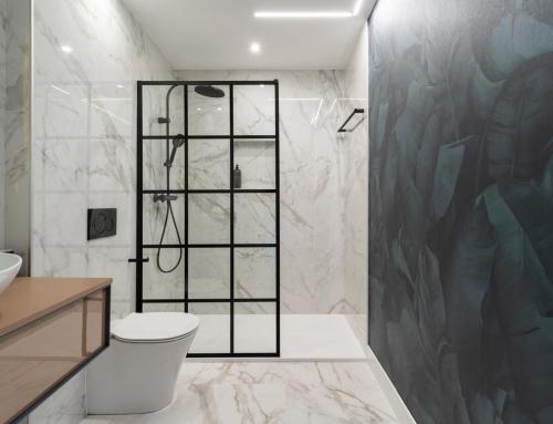 Baño para chalet en Oleiros