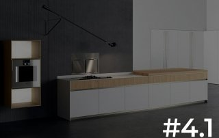 Copatlife presenta el sistema de cocina 4.1 con puertas de aluminio alveolar